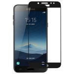 Full Glue Full Cover Screen Protector Tempered Glass film for Galaxy C7 (2017) / J7+
