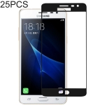 25 PCS Full Glue Full Cover Screen Protector Tempered Glass film for Galaxy J3 Pro