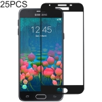 25 PCS Full Glue Full Cover Screen Protector Tempered Glass film for Galaxy J5 Prime