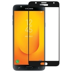 Full Glue Full Cover Screen Protector Tempered Glass film for Galaxy J7 Duo