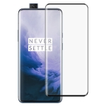 Full Glue 3D Curved Edge Full Screen Tempered Glass Film for OnePlus 7 Pro (Black)