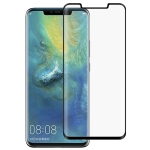 Full Glue 3D Curved Edge Full Screen Tempered Glass Film for Huawei Mate 20 Pro (Black)
