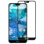 Full Glue Full Cover Screen Protector Tempered Glass film for Nokia 7.1