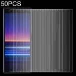 50 PCS 0.26mm 9H 2.5D Tempered Glass Film for Sony Xperia 20