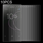 10 PCS 0.26mm 9H 2.5D Tempered Glass Film for Sony Xperia XZ1 Compact