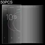 50 PCS 0.26mm 9H 2.5D Tempered Glass Film for Sony Xperia XZ1 Compact
