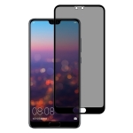 Full Cover Anti-spy Tempered Glass Film for Huawei P20 Pro