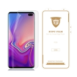 MIETUBL 0.15mm Curved Full Screen Protector Hydrogel Film Front Protector for Galaxy S10+