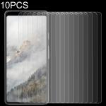 10 PCS 0.26mm 9H 2.5D Tempered Glass Film for Google Pixel 4