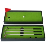 Golf Mini Putting Mat Court Push Rod Trainer, Size: 24.5×10.5×3.5cm