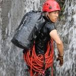 XINDA H-BAG03 30L Outdoor Waterproof Upstream Storage Shoulder Mountaineering Bag (Black)