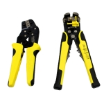 0.25-6.0mm Multi-function Wire Stripper + Carbon Steel Crimping Pliers + Storage Bag Tools Set