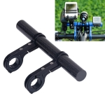 HLD-208 Mountainous Bicycle Carbon Fiber Handlebar Extension Frame Flashlight Bracket (Black)