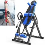 Multi-function Household Heightening Inverted Crane Machine Sports Equipment (Black Blue)
