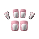 700Kids 6 PCS Children Sports Knee Elbow Protective Gear (Pink)