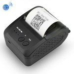 Portable 58mm Thermal Bluetooth Receipt Printer, Support Charging Treasure Charging