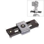 PULUZ Close-Up Shooting Desktop Fluid Drag Track Slider Aluminum Alloy Camera Video Stabilizer Rail with 1/4 inch Screw