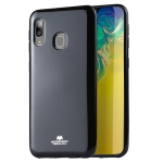 MERCURY GOOSPERY JELLY TPU Shockproof and Scratch Case for Galaxy A20e (Black)