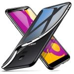 ESR Twinkler Series Transparent Ultra-thin Soft TPU Case for Galaxy J6 (Black)
