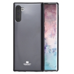 MERCURY GOOSPERY JELLY TPU Shockproof and Scratch Case for Galaxy Note 10 (Black)