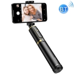 Baseus SUDYZP-D1V Full Storage 360 Degree Rotating Bluetooth Selfie Stick for Mobile Phones Below 6.5 inch, with Anti-slip Tripod(Black Gold)