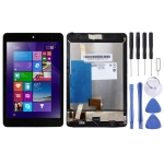 LCD Screen and Digitizer Full Assembly with Frame for Lenovo Miix 3-830 (Black)