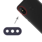 Camera Lens Cover for Xiaomi Redmi 6 Pro / MI A2 Lite(Black)