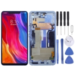 LCD Screen and Digitizer Full Assembly with Frame for Xiaomi Mi 8 SE (Blue)