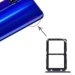 SIM Card Tray + SIM Card Tray for Huawei Honor 20 (Black)