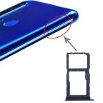 SIM Card Tray + SIM Card Tray / Micro SD Card Tray for Huawei Nova 5i (Blue)