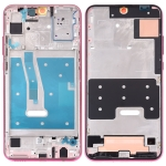 Middle Frame Bezel Plate with Side Keys for Huawei Honor 20i (Red)