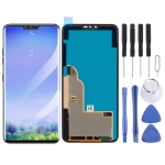 LCD Screen and Digitizer Full Assembly for LG V40 ThinQ(Black)