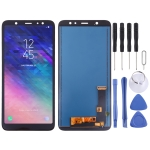 LCD Screen and Digitizer Full Assembly (TFT Material) for Galaxy A6+ (2018)(Black)