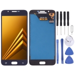 LCD Screen and Digitizer Full Assembly (TFT Material) for Galaxy A8(Black)