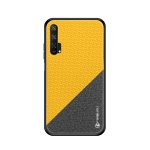 PINWUYO Honors Series Shockproof PC + TPU Protective Case for Huawei Honor 20 Pro(Yellow)