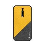 PINWUYO Honors Series Shockproof PC + TPU Protective Case for Xiaomi RedMi K20 / K20 Pro / Mi 9T / Mi 9T Pro(Yellow)