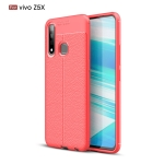 Litchi Texture TPU Shockproof Case for VIVO Z5X(Red)