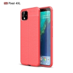 Litchi Texture TPU Shockproof Case for Google Pixel 4XL(Red)