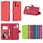 Crazy Horse Texture Horizontal Flip Leather Case for Galaxy A60, with Holder & Card Slots & Wallet & Photo Frame(green)