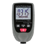 GM998 Digital Thickness Gauges Paint Coating Thickness Gauge Car Thickness Gauges Tester With Backlight Film(Gray)