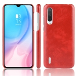 Shockproof Litchi Texture PC + PU Case For Xiaomi Mi CC9/Xiaomi Mi CC9mt Meitu Edition(Red)