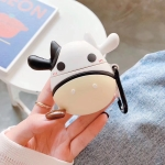 Stereo Silicone Cow Airpods Bluetooth Headset Case for Apple AirPods 1 / 2