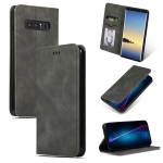 Retro Skin Feel Business Magnetic Horizontal Flip Leather Case for Galaxy NOTE 8(Dark Gray)