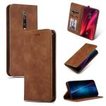 Retro Skin Feel Business Magnetic Horizontal Flip Leather Case for Redmi K20 & K20 Pro & Xiaomi 9T & Xiaomi 9T Pro(Brown)