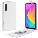 Crazy Horse Vertical Flip Leather Protective Case for Xiaomi MI CC9e / MI A3(white)