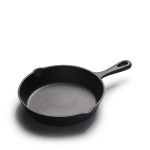 Cast Iron Non Stick Frying Pan Cooking Pot, Sheet Size:25cm