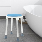 360 Degree Rotating Non-slip Bath Stool Bath Shower for Elder