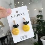 Fashion Sweet Cute Pineapple Pendant Earrings for Girl