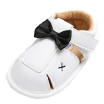 Infant Baby Sandals Hollow Out Shoes Bowknot Casual Soft Bottom Non-slip Toddler, Shoe Size:12cm(White)