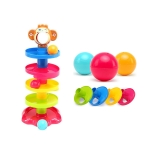 Swirl Ball Tower Toddler Development Educational Toys Activity Stacking Toy
